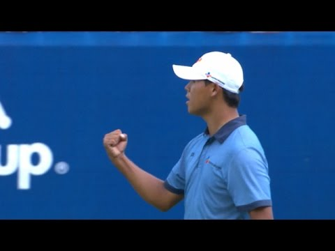 Highlights | Si Woo Kim wins in style at the 2016 Wyndham Championship