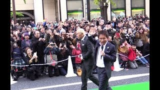 2017.11.12 大阪市内で行われたイベント「御堂筋オータムパーティー2017...
