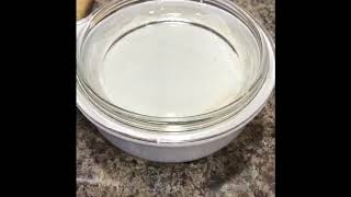 My first Fermented Vegan Cheese