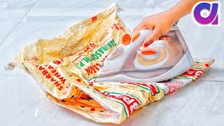 best way to reuse empty rice bag | DIY crafts idea | Best Out of waste | Artkala 400