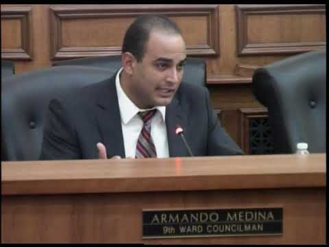 City of Linden: Council Meeting: Armando Medina's Report, September 18, 2018