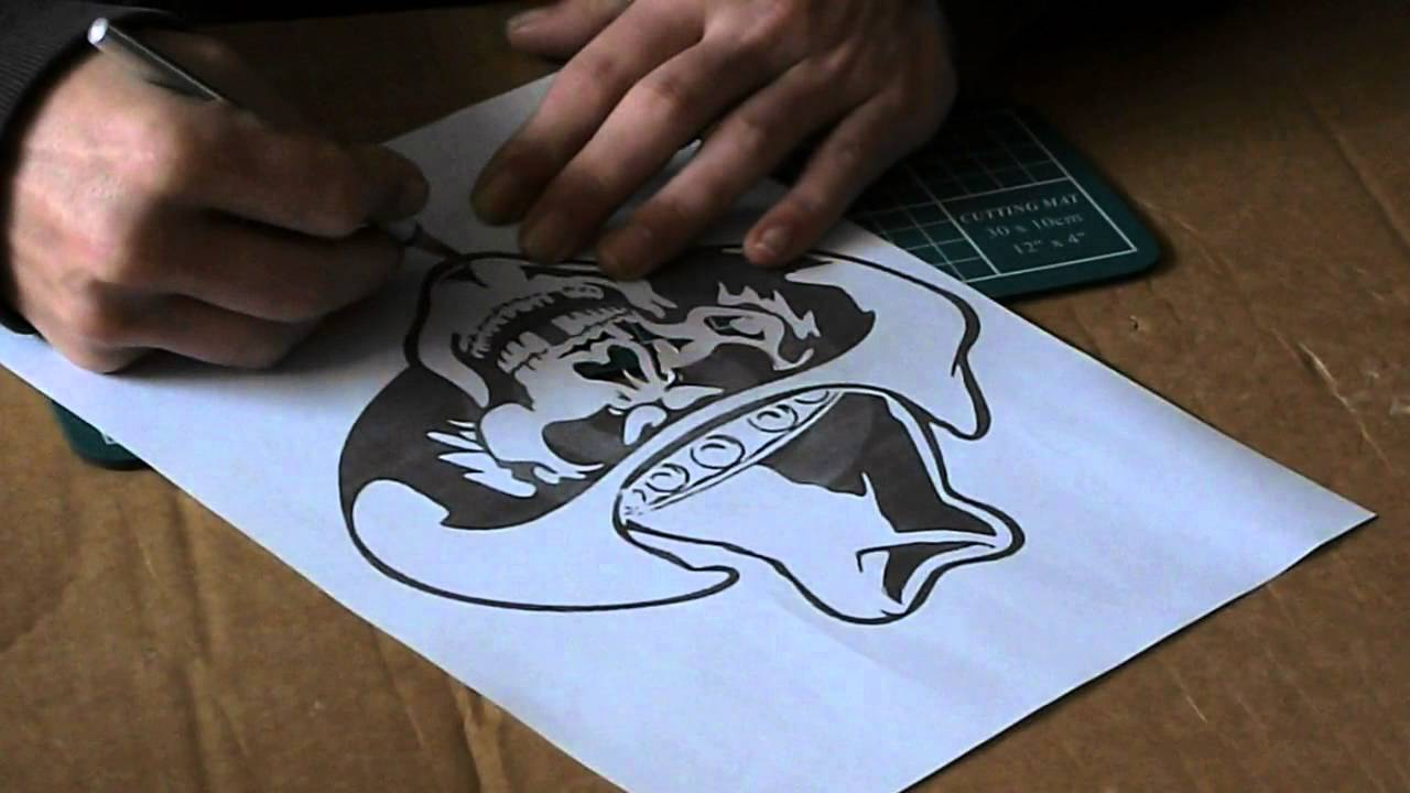 Vaak Airbrush tips - how to make and use airbrush stencils part 1 - YouTube &ZV79