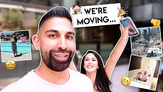 We're Moving!!! | Dhar and Laura