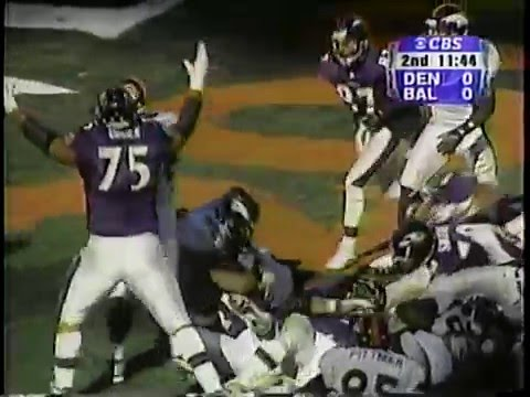 2000 AFC Wildcard Broncos at Ravens Dec 31, 2000 (Part 1 of 2)