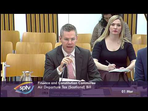 Finance and Constitution Committee - Scottish Parliament: 1st March 2017