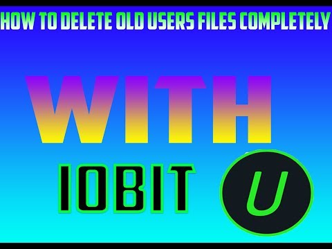 How to clean old users data completely I watch this if your pc lags too much