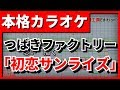 【フル歌詞付カラオケ】「初恋サンライズ」(つばきファクトリー)【野田工房cover】