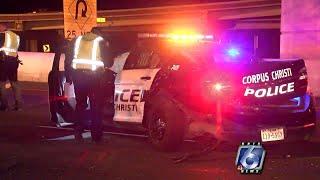 CCPD: Car crashes into back of police car