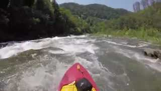 Canoeing the Ocoee River