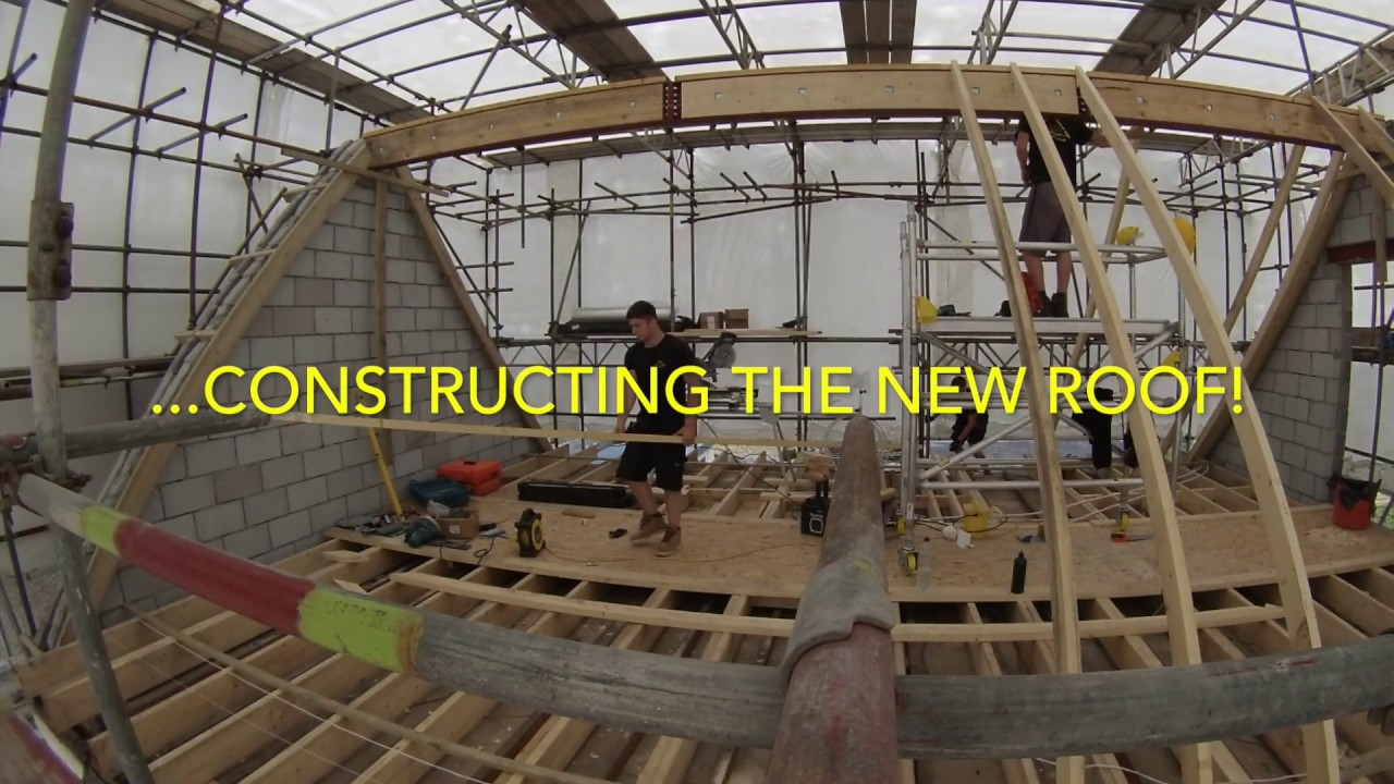How To Install A Steel Ridge Beam August 2016 Youtube