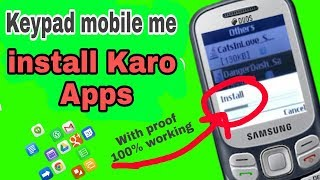 Keypad mobile par koi se bhi Apps install karo with proof 100% By Nts Trick