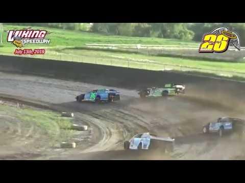 Viking Speedway WISSOTA Modified Heats (7/13/19)