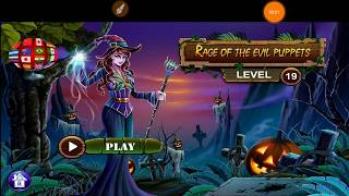 Sinister Tales Halloween 2018 Rage Of The Evil Puppets Level 19 Walkthrough HFG ENA