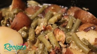 Southern Green Beans, Bacon, and Potatoes - I Heart Recipes