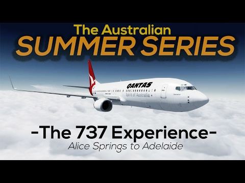Prepar3d V3 | Australian Summer Series | 737-800 Alice Springs to Adelaide