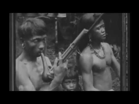 Suku Dayak Borneo Kalimantan Tempo Dulu