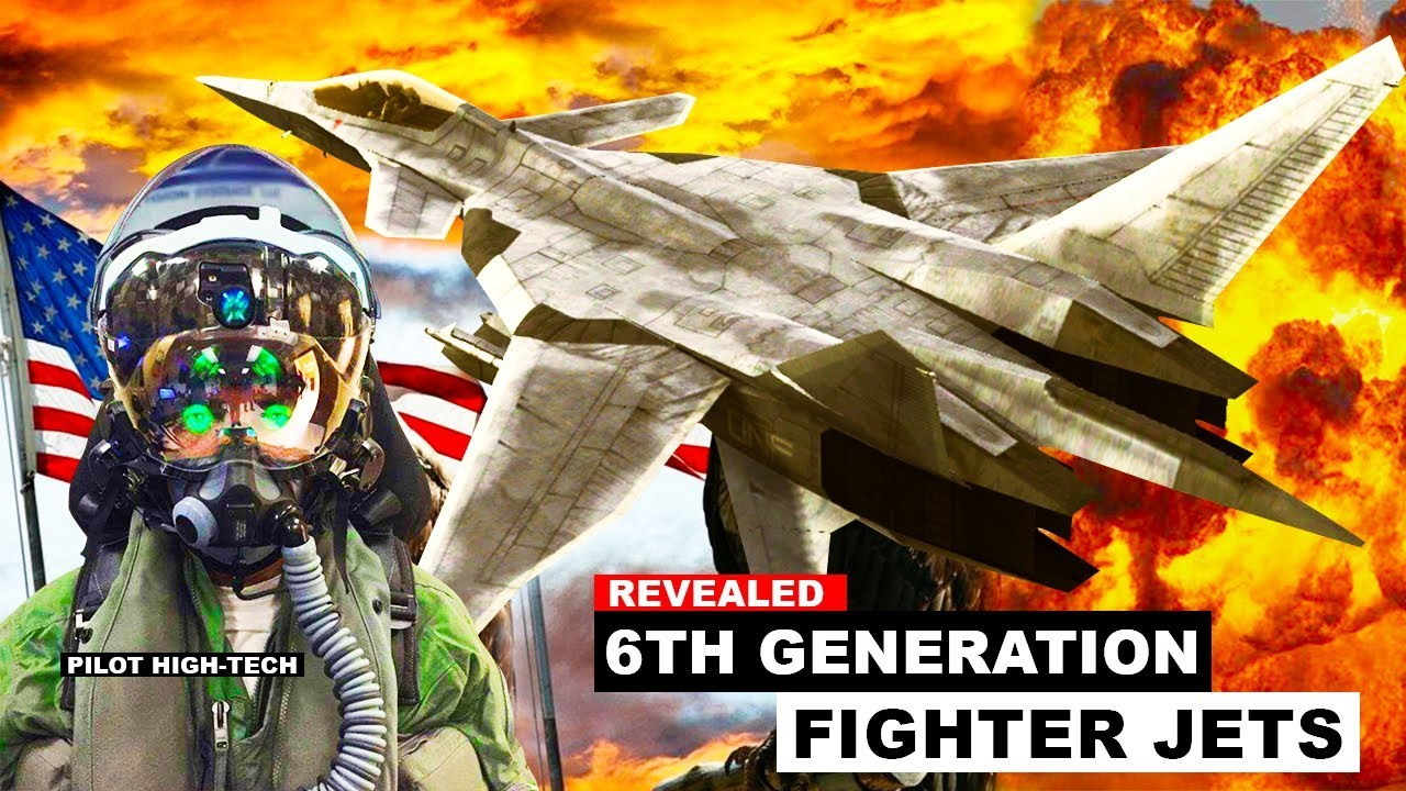 Why 6th Generation Fighter Jet Will Crush F-35 And F-22 ?