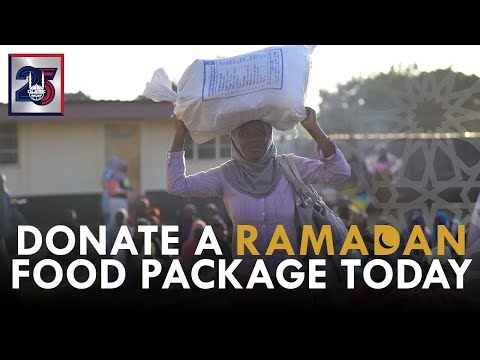 Feed a Family During Ramadan - Ramadan 2018 - Islamic Relief USA