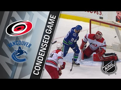 12/05/17 Condensed Game: Hurricanes @ Canucks
