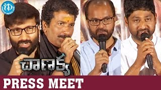 Chanakya Movie Full Press Meet || Gopichand || Mehreen || Zareen Khan || iDream Filmnagar