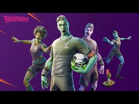 Skin De Futebol Fortnite Novas Skins De Halloween De Futebol Fortnite Skin De Halloween Fortnite 2019 Danca Zumbificado Youtube