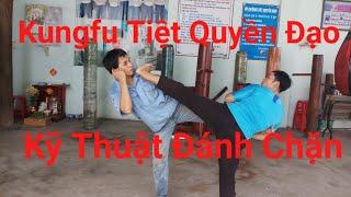Kungfu Tiệt Quyền Đạo kỹ thuật tự vệ đánh chặn|Toankungfu|