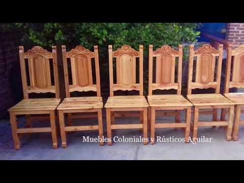 Muebles Coloniales Y Rústicos Aguilar