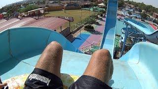 Pendulum Swing Water Slide at Splash The Sun City