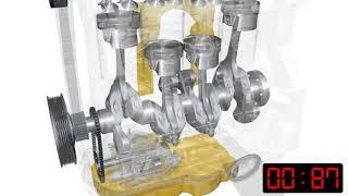 видео Как работает система смазки двигателя?