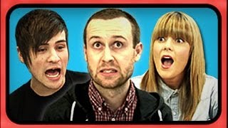YouTubers React to Viral Videos - Rewind YouTube Style
