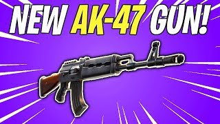 NEW AK-47 COMING SOON! Future Assault Rifle in Fortnite | Fortnite Save The World News