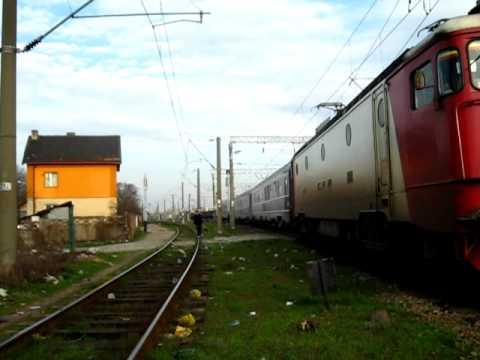 """R 74 """"TRAIANUS""""  Timisoara - Budapesta"""