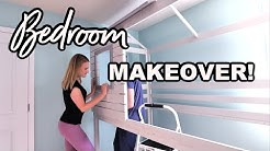 *NEW* BEDROOM MAKEOVER + DIY DECORATE WITH ME 🖤 Home Tour w/@Do It On A Dime
