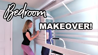 *NEW* BEDROOM MAKEOVER..we built a treehouse! ? HOME TOUR W/@Do It On A Dime
