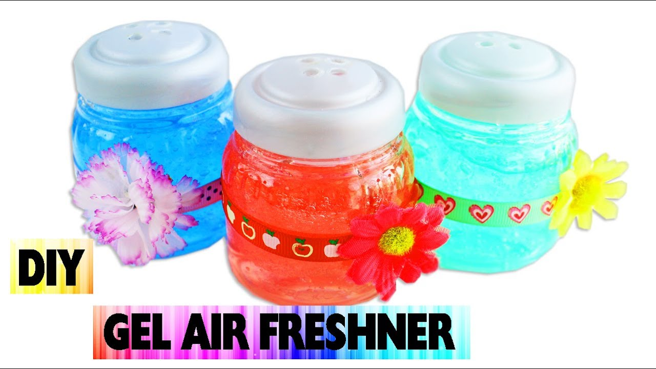 Diy gel air freshener easy arts and crafts no cook for Easy diy arts and crafts