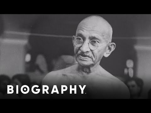 Gandhi - Human Rights Activist | Mini Bio | Biography