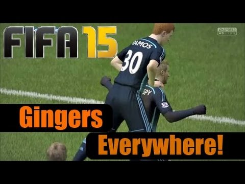 FIFA 15 | Pro Clubs | GINGERS EVERYWHERE!