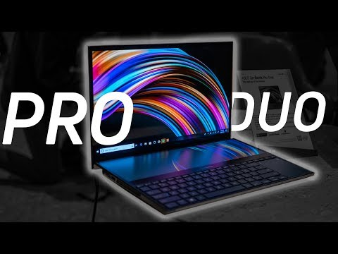 The laptop with two screens?? ASUS Zenbook Pro Duo hands-on