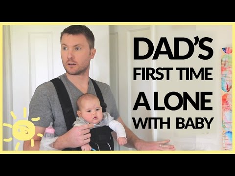 Dad Left Alone With Baby! (Funny Ad)