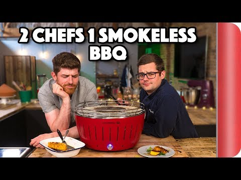 SMOKELESS BBQ GRILL Put To The Test By Chefs