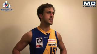 Seagulls Media | Oliver Tate post game - Round 14