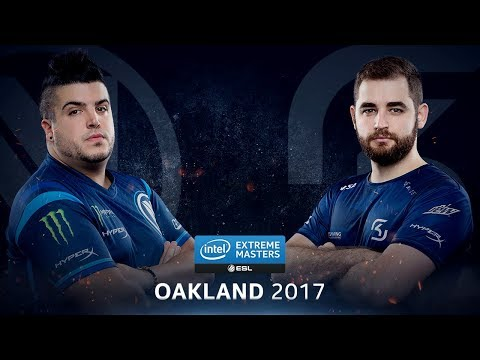 CS:GO - EnVyUs vs. SK [Cbble] - Group A Round 1 - IEM Oakland 2017