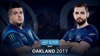 CS:GO - EnVyUs vs. SK [Cbble] - Group A Round 1 - IEM Oakland 2017
