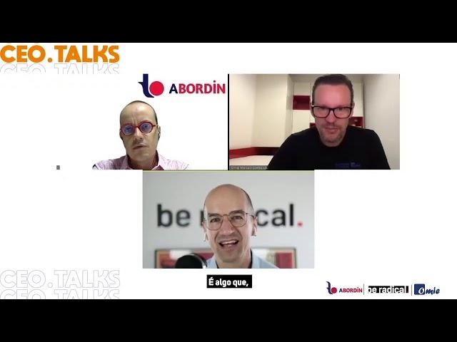CEO Talks   Marcelo Lombardo Omie, Allan Bordin Assessor Bordin e Pascal Finette Be Radical