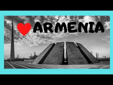 ARMENIA: The must-see Armenian GENOCIDE MEMORIAL & MUSEUM in YEREVAN