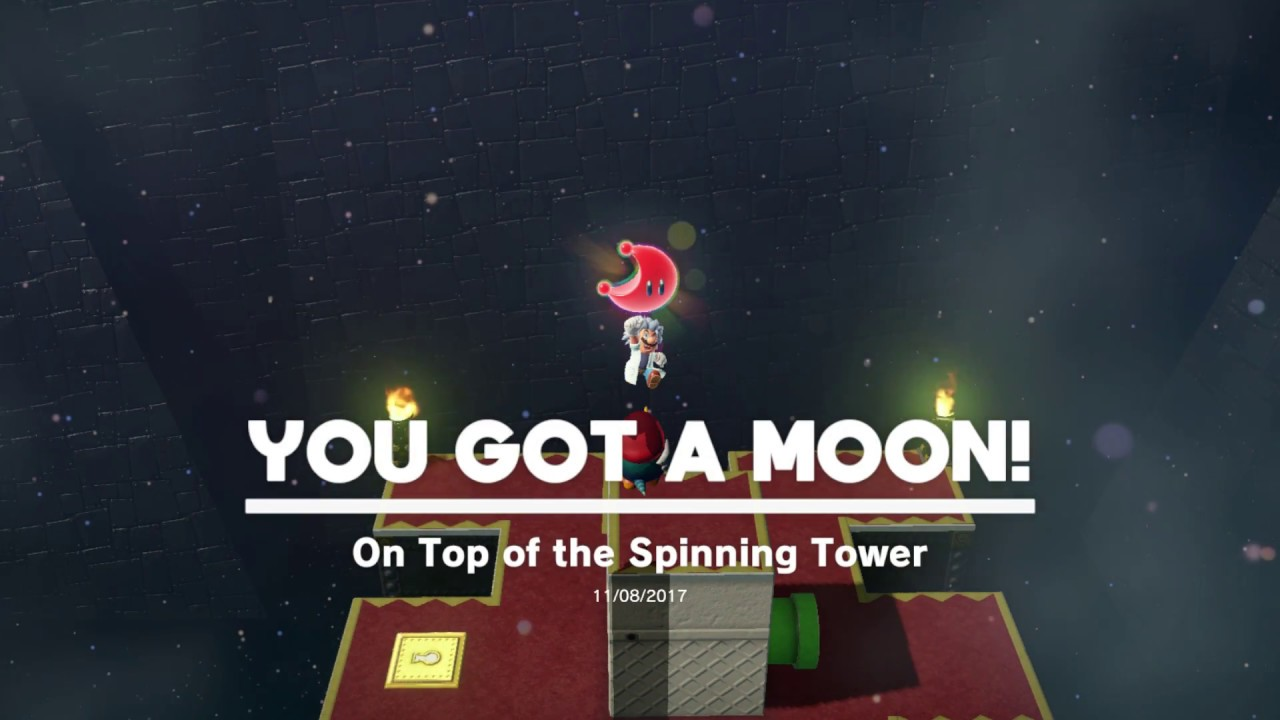 Super Mario Odyssey Bowser S Kingdom Moon 33 On Top Of The