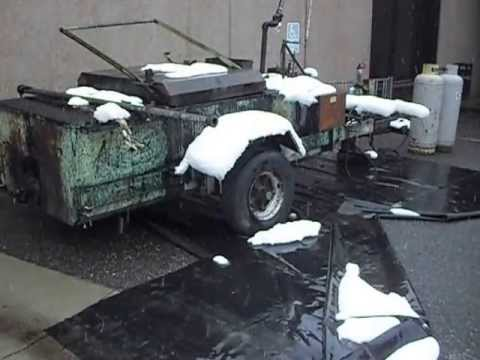 Snowfall On A Tar Kettle Youtube