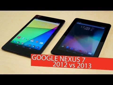 Google Nexus 7 1st Gen [2012] vs. 2nd Gen [2013]