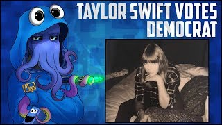 Taylor Swift Publicly States Democrat Support