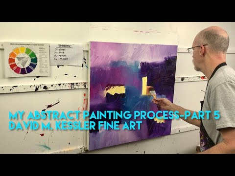 My Abstract Painting Process-Part 5